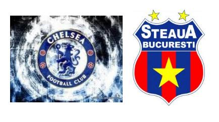 chelsea vs Steaua Bucharest schedule