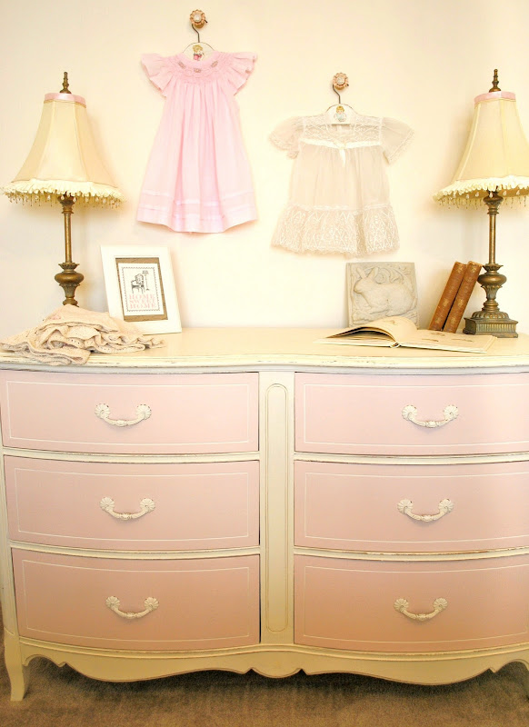 Pink Little Girl Dressers Furniture