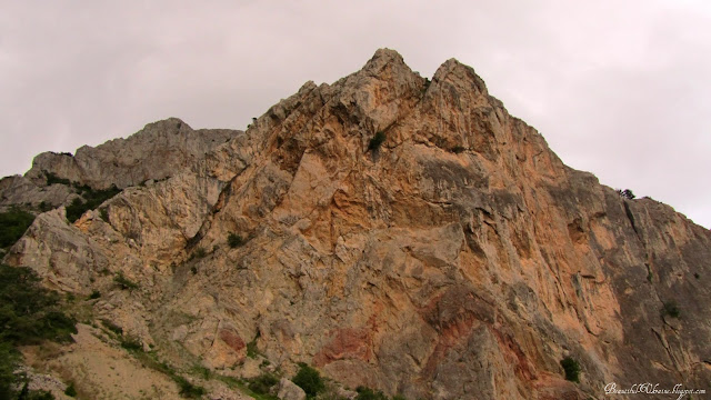 Горы. Севастопольская трасса
