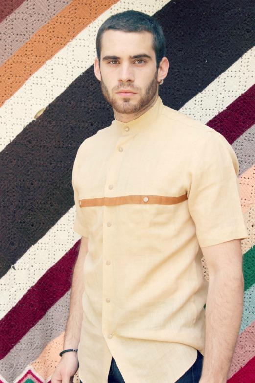vintage beige shirt