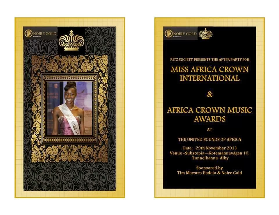 Afrika crown music award