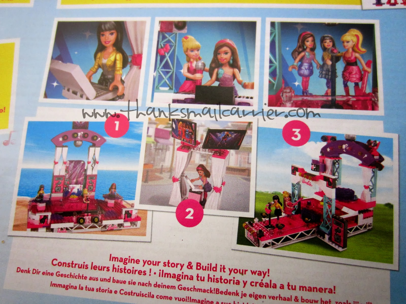 Mega Bloks Barbie options