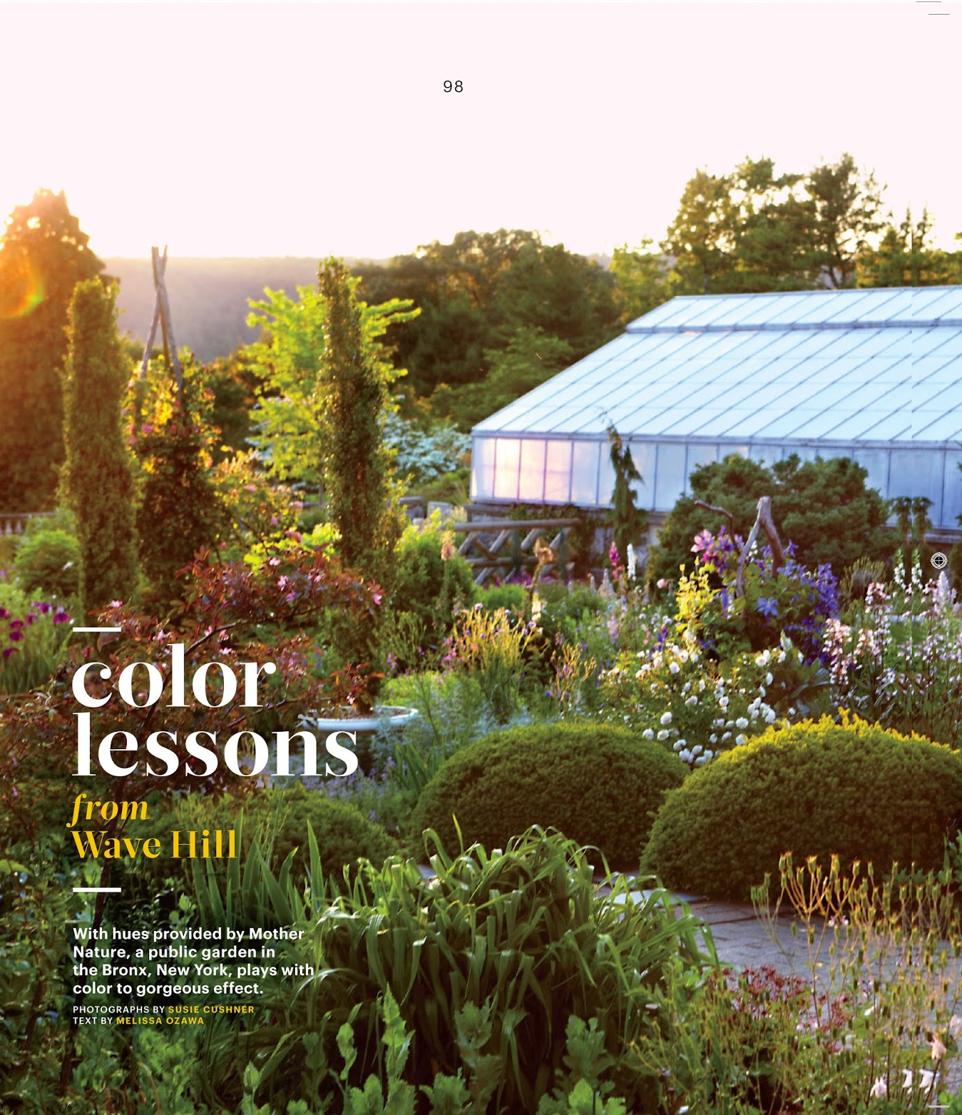 66 Square Feet (Plus): Wave Hill\'s plant combinations in Martha ...