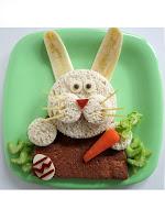 Детски сандвич зайче