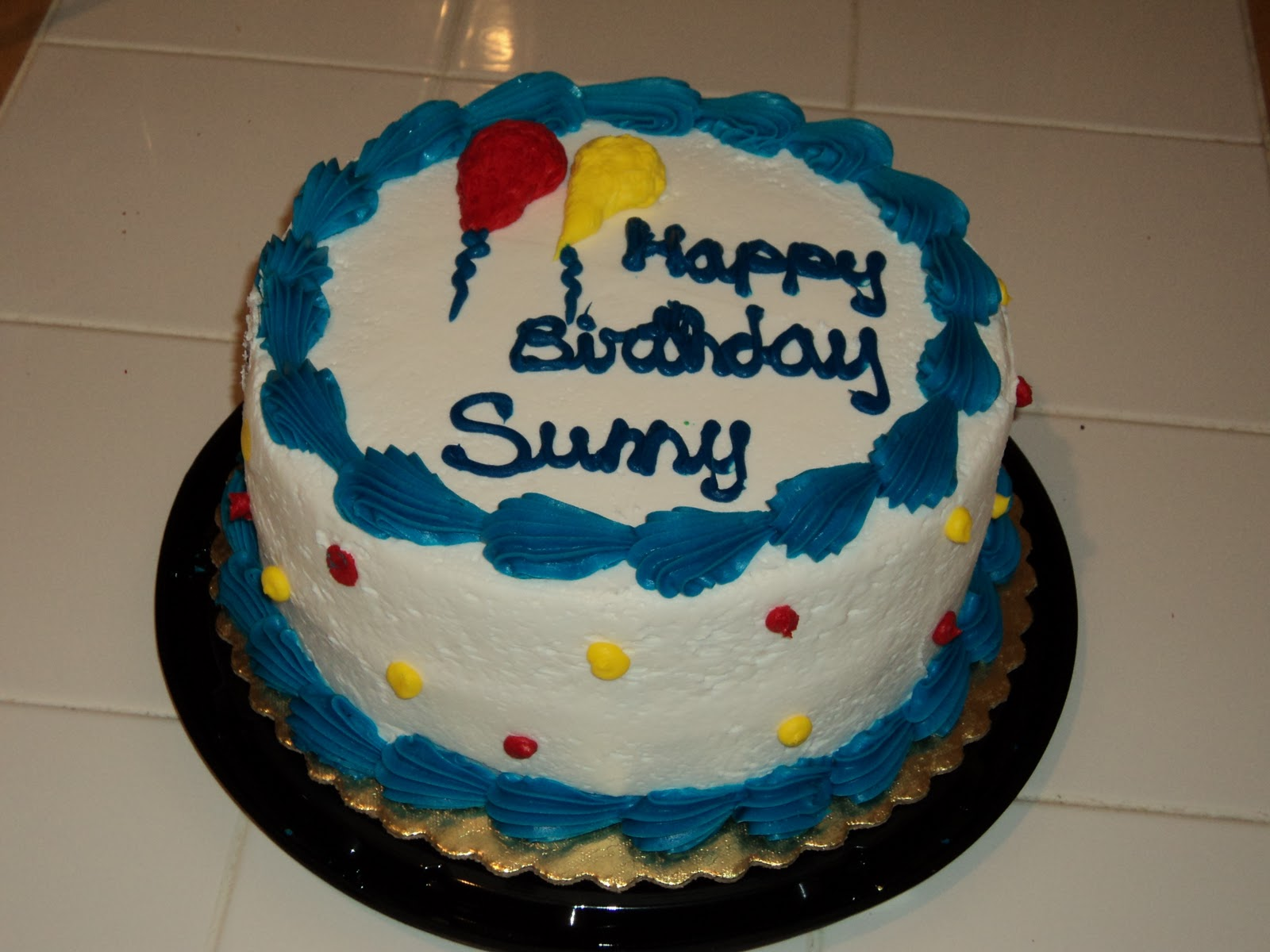 Birthday Cake Images With Name Sunny : SurfWriter Girls: Sunny s Big B-Day