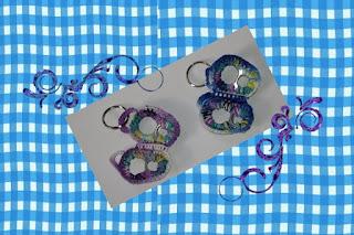 pull tab crochet butterfly keychain ring pattern