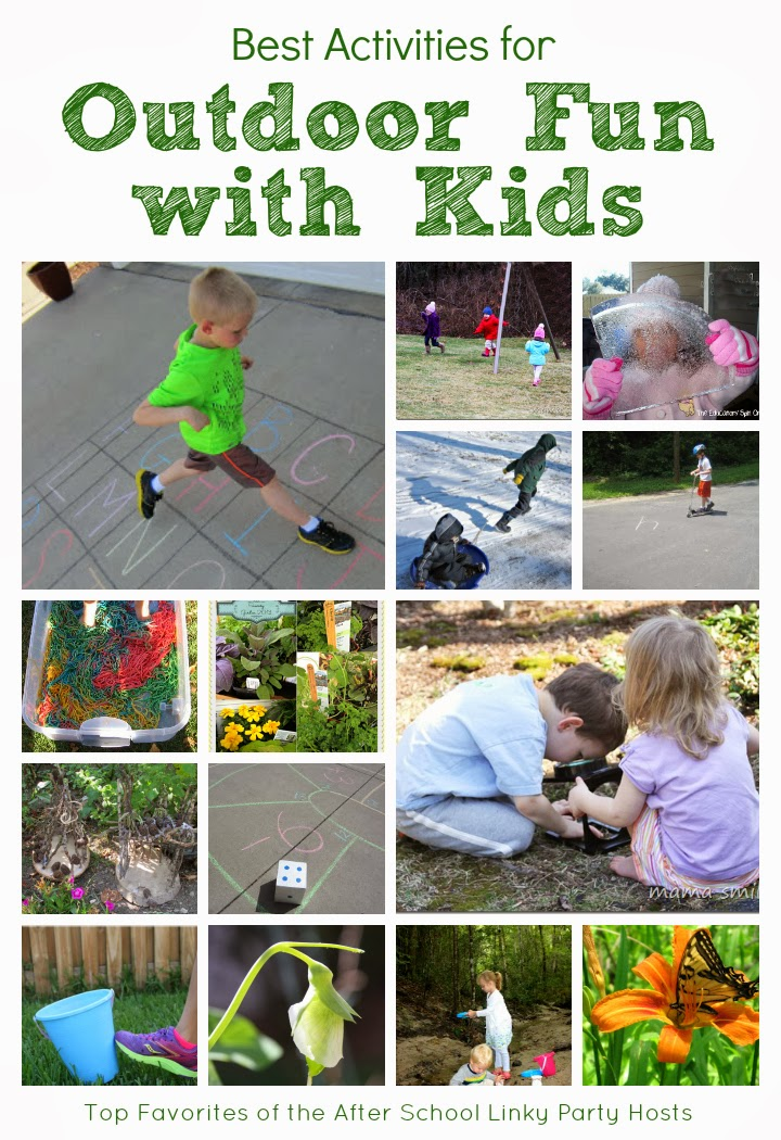 fun games for kids outdoors