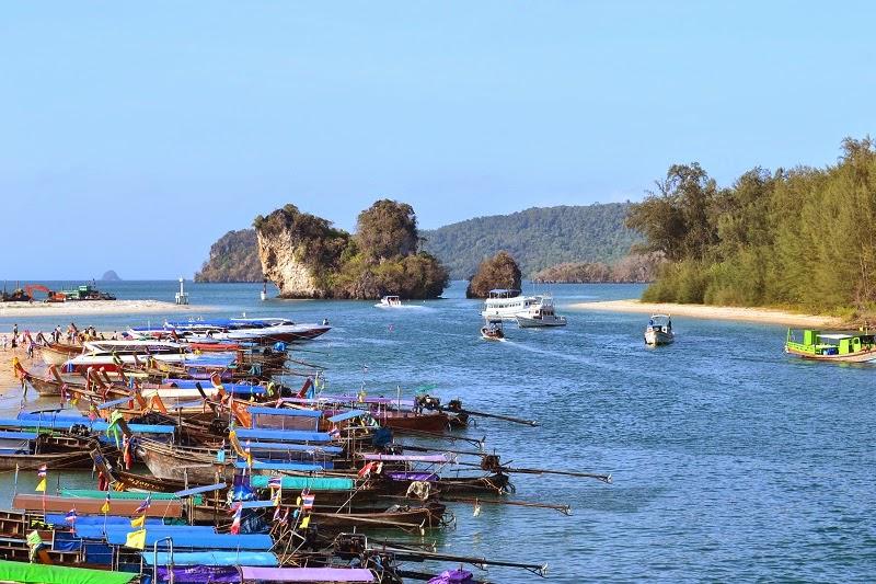 Krabi, Thailande,ferry