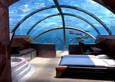 Hotel Bawah Laut yang Aneh