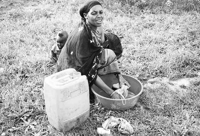 the burden of thirst As americans we are so lucky with the excess of water we are able to use in the village of foro in ethiopia the women had to travel far away just to go collect fifty pounds of water that wasn't even sanitary.