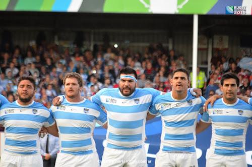 Formación de Los Pumas ante Tonga