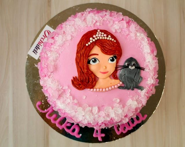 księżniczka Zosia tort