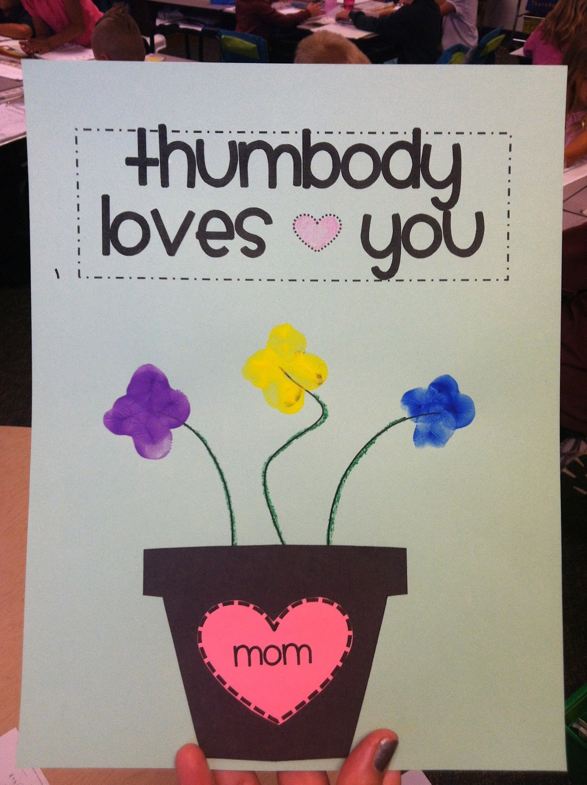 preschool mothers day crafts falling into s matter and thumbodys you 919