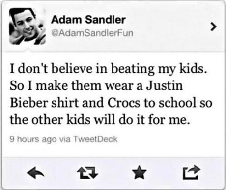 Adam Sandler's Amazing Thought