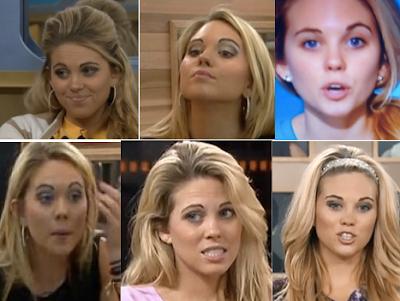Big Brother 15 Aaryn Eyebrows