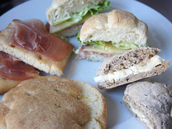 glutenfreie Schnittchen mit Brot von NutriFree & CrazyBakers