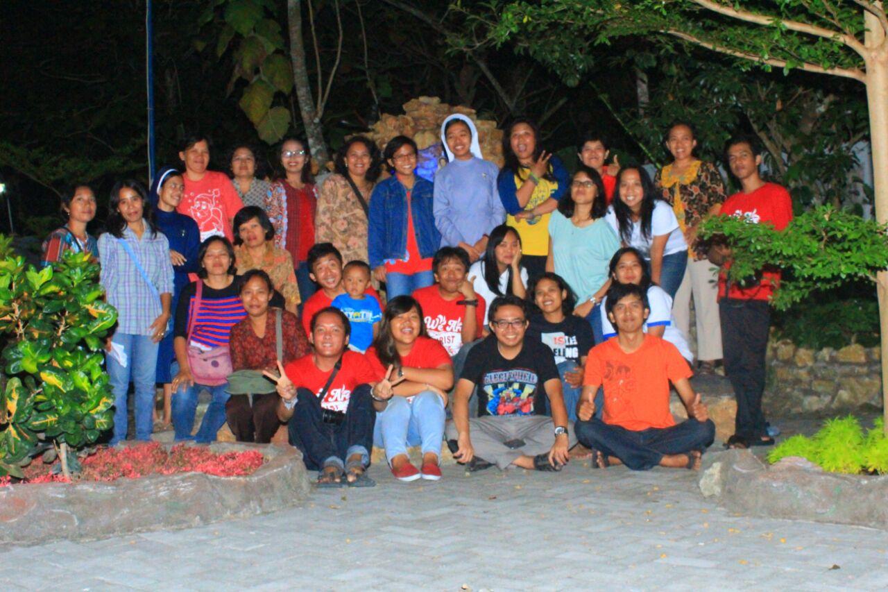Bersama para pendamping PIA Rayon Gunung Kidul
