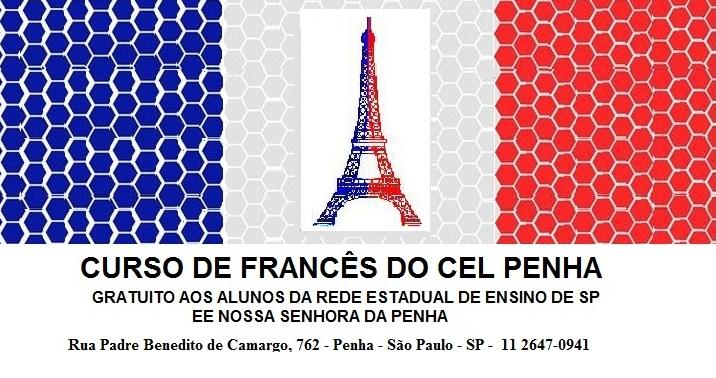 CURSO DE FRANCÊS DO CEL PENHA - SP