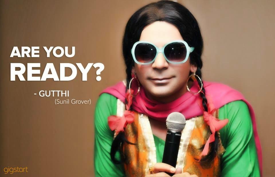 Sunil Grover aka 'Gutthi' joins Gigstart