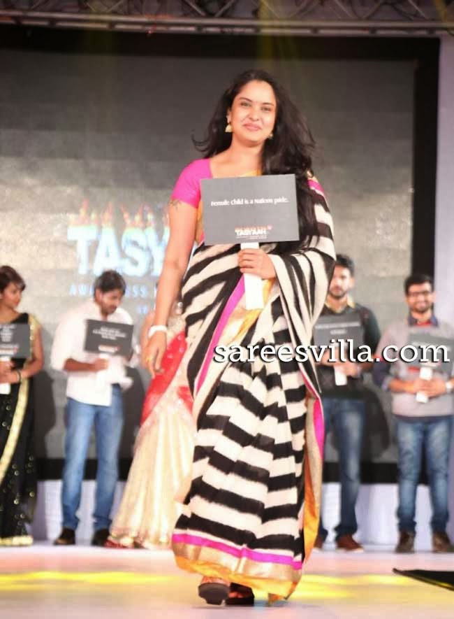 Celebs at Tasyaah Awareness Fashion Walk 2014