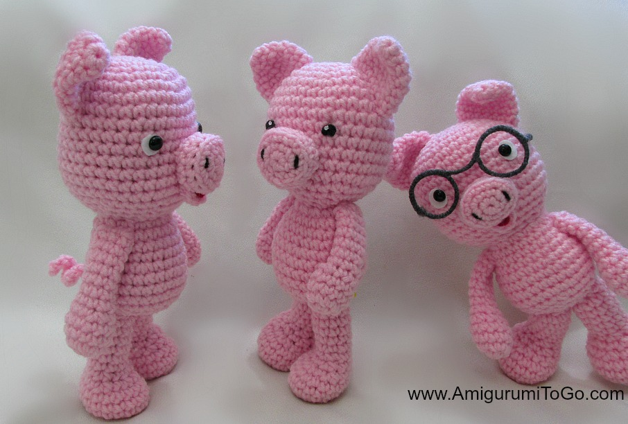 Pig Selfies and Updates ~ Amigurumi To Go
