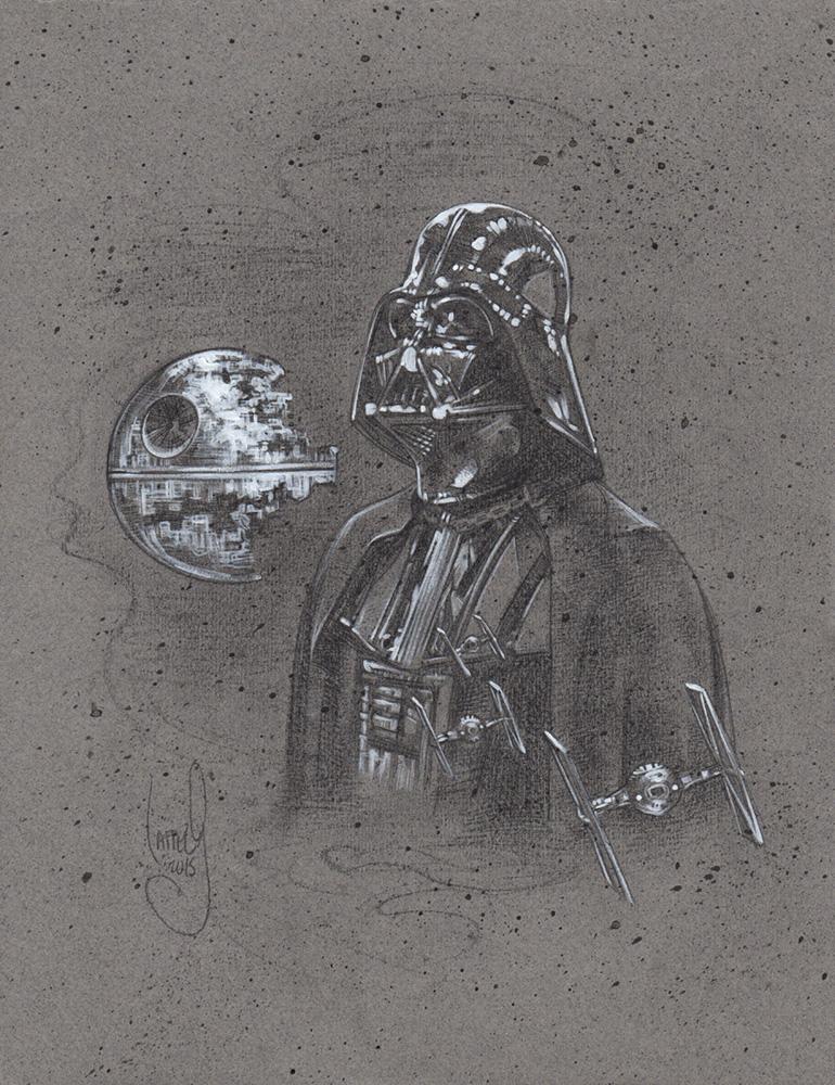 Darth Vader, Artwork Copyright © 2014 Jeff Lafferty