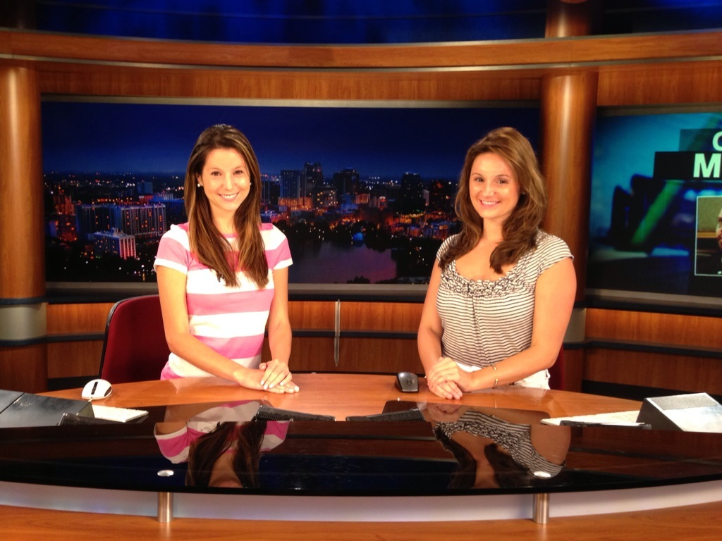 News Anchor Barbie: An Evening Spent with WFTV Channel 9 News