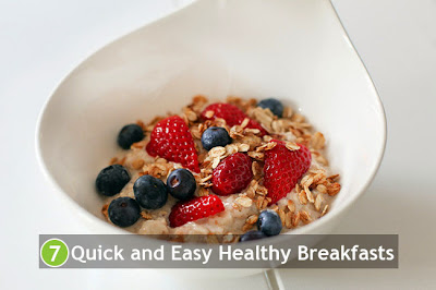 7 Quick and Easy Healthy Breakfasts