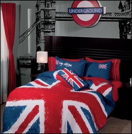 Decorating theme bedrooms maries manor travel theme for Union jack bedroom ideas