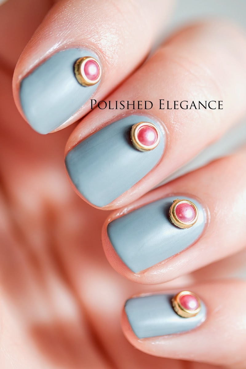 OPI - Cement The Deal matte born pretty store pink studs