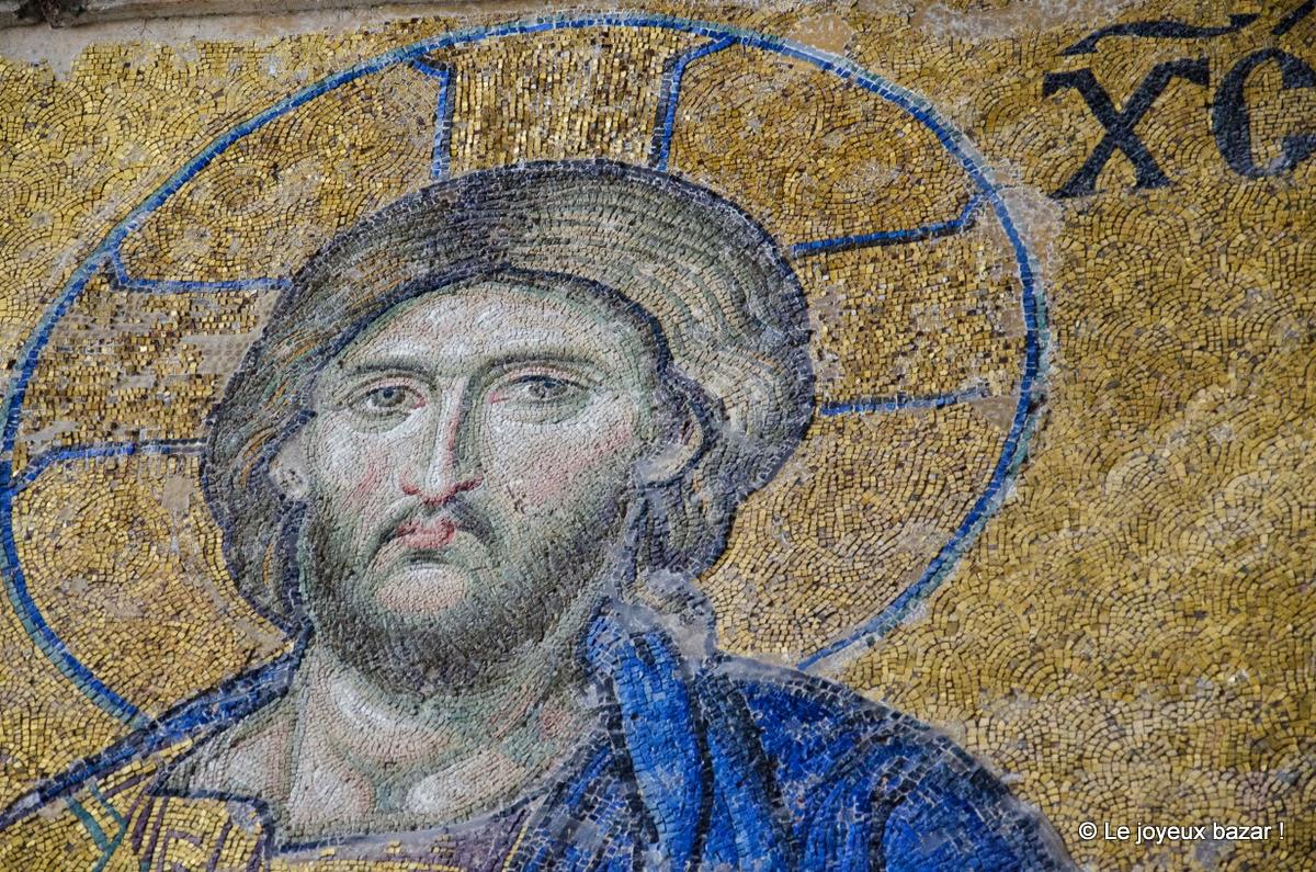 Istanbul - sultanahmet - sainte sophie - mosaique