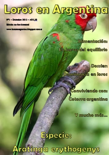 Revista Loros en Argentina N1 Diciembre 2013