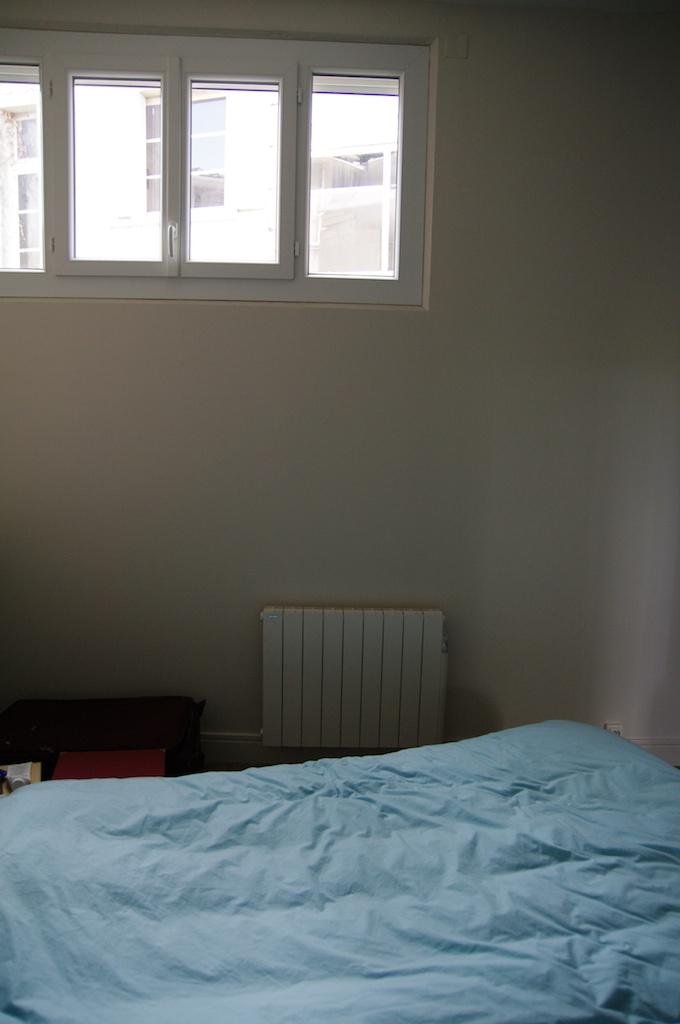Notre maison en cours de r novation radiateur pos dans - Temperature dans une chambre ...
