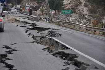 Ruinas de terremotos