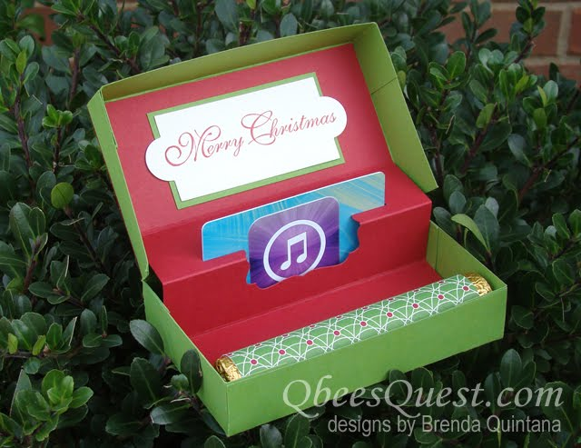 Qbee S Quest Pop Up Gift Card Box Tutorial