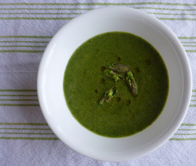 Chilled Asparagus Soup - Learning Patience