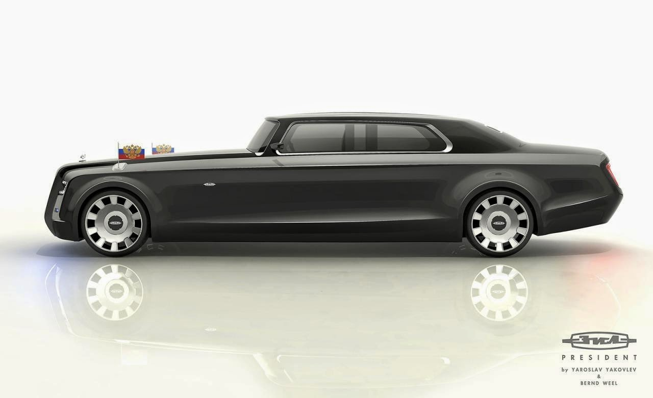 Cars world the amazing ziil presidential limo