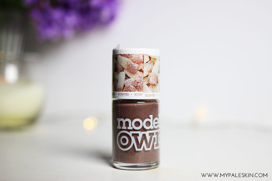 Models own, scented sweet shop collection, review, swatches, swatch, fizzy cola bottles, rhubarb n custard