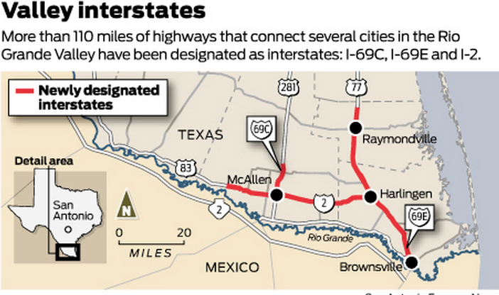 69c Expressway 281 And I 69e U S 77 Which Connect The Rio Grande Valley To San Antonio Are The Main Roads That The Organization Uses To Pump A Steady
