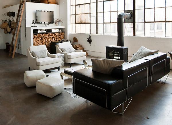 Un loft de estilo industrial en Brooklyn