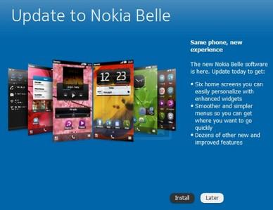 nokia belle, nokia n8 belle, nokia belle update