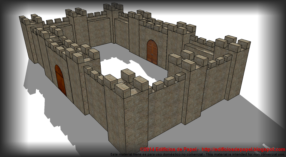 Medieval Fortification, you can build it as large as you want