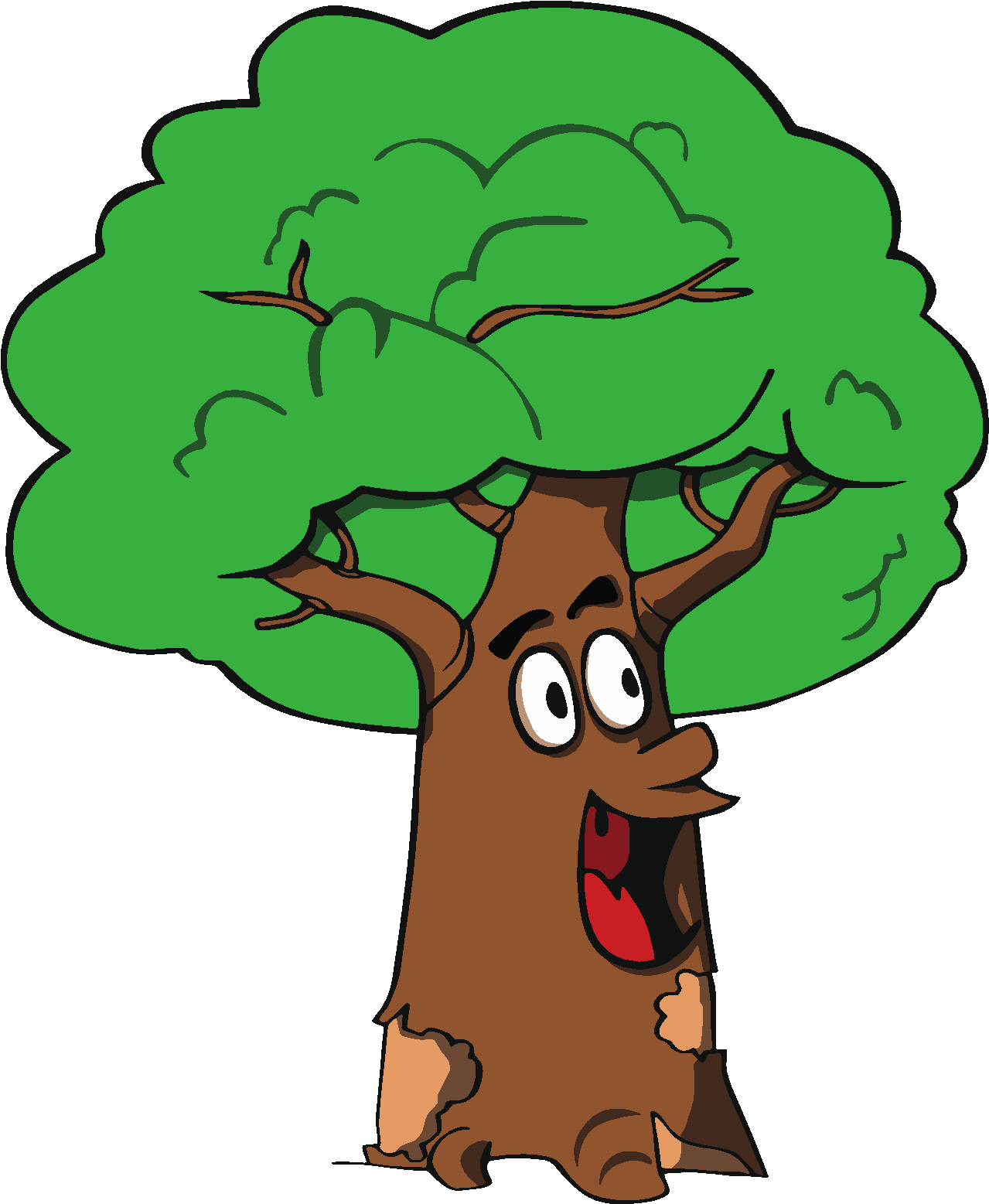 Cartoon Tree Stock Images RoyaltyFree Images amp Vectors