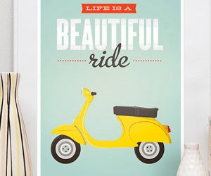 Posters for Home - Vintage Esty Theme