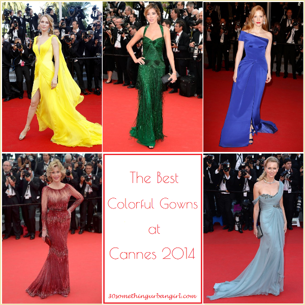 The best colorful gowns at Cannes 2014