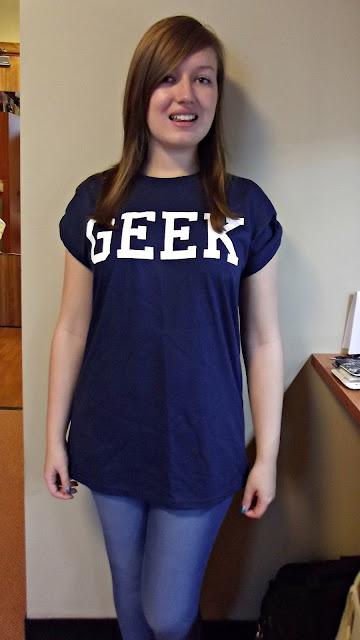 Topshop geek t-shirt