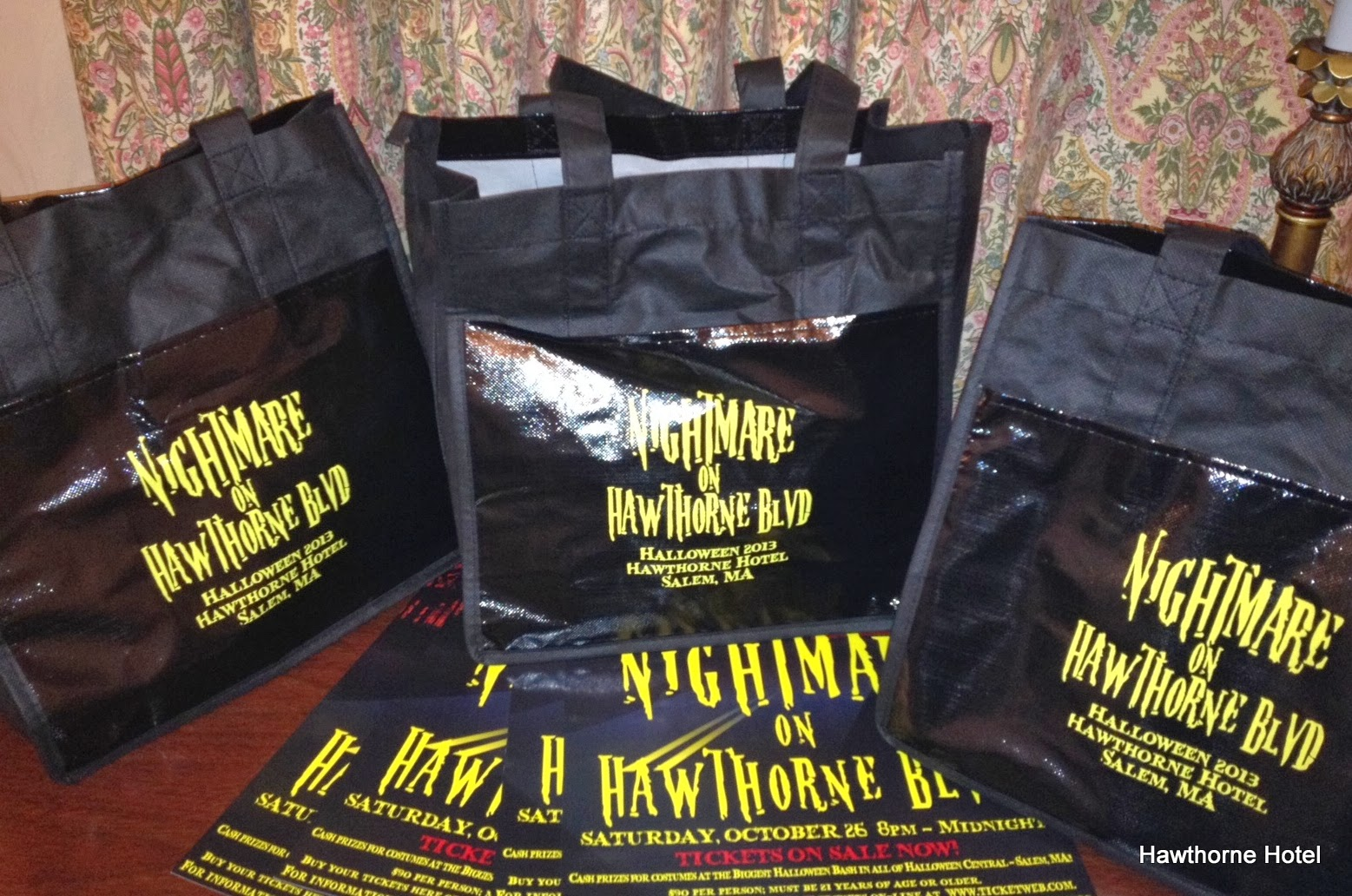 Hawthorne Hotel: Delivering the Swag Bags
