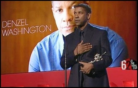 Denzel Washington en San Sebastián 2014
