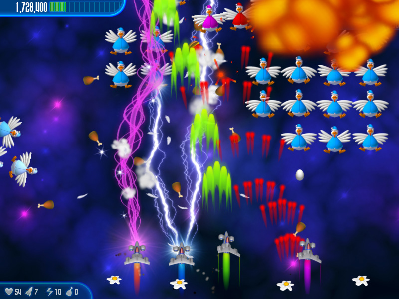 Chicken Invaders 3 - Free download and software reviews