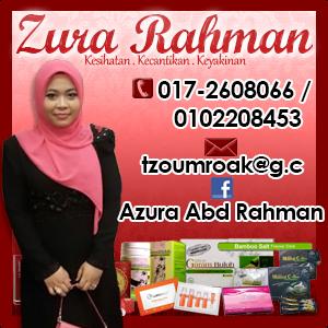 giveaway by azura abd rahman duit raya 2014